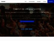 Création de sites spécialisés pour peintres