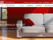 screenshot http://www.peinture-decoration-bourriaux.com bourriaux benoit entreprise de peinture
