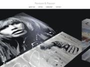 screenshot http://www.peinture-et-passion.com peinture et passion : artiste peintre contemporain