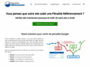 screenshot http://www.penalites-referencement.com pénalité référencement
