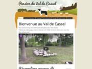 screenshot http://www.pensionduvaldecassel.fr/ www.pensionduvaldecassel.fr