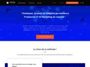 screenshot http://www.people-centric.fr Cabinet de recrutement informatique