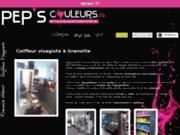 screenshot http://www.peps-couleurs.fr/ salon de coiffure