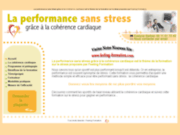 screenshot http://www.performance-sans-stress.com cohérence cardiaque