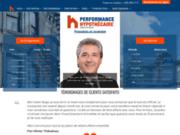 screenshot http://www.performancehypothecaire.ca courtier hypothécaire