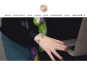 Bijoux en verre de Murano et argent 925