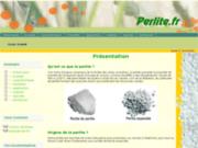 screenshot http://www.perlite.fr perlite en france