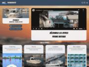 screenshot http://www.permibato.com bateau ecole permibato palavas