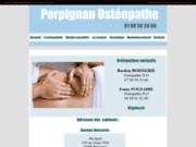 screenshot http://www.perpignan-osteopathe.com ostéopathie