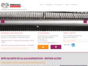 Galvanisation à chaud d'aciers en Rhône-Alpes