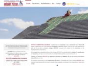 screenshot https://www.petitotcharpentiercouvreur.fr/ charpente et couverture de bâtiment dans l'Yonne 89