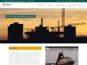 screenshot http://www.petrabuildingsolutions.com/fr Solutions du Bâtiment Petra