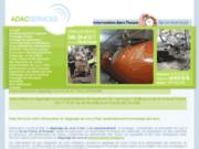 Adac Assainissement : Inspection Vidange Pompage