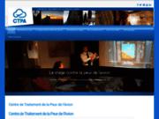 screenshot http://www.peuravion.fr Centre de Traitement de la Peur de l'Avion : prise en charge spécialisée