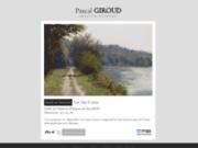 screenshot http://www.pgiroud.fr pascal giroud artiste peintre figuratif