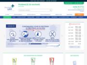screenshot http://www.pharmacie-de-navenne.com Pharmacie de Navenne