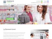 screenshot https://www.pharmaciecarnot.com/ pharmacie, parapharmacie, médecine naturelle et matériel médical à Agen