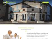 screenshot https://www.pharmaciedelabascule.com/ pharmacie à Aucamville 82600