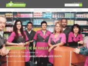 screenshot http://www.pharmaciedelahallecazeres.com/ Pharmacie de la Halle