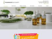 screenshot https://www.pharmacieduplanty86.com/ pharmacie à Buxerolles