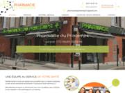 screenshot https://www.pharmacieduprintemps.com/ pharmacie à Toulouse 31000
