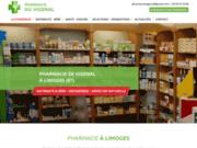 screenshot http://www.pharmacieduvigenal.com Pharmacie du Vigenal