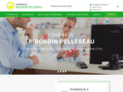 screenshot http://www.pharmacieribondinpellereau.com Pharmacie Ribondin Pellereau