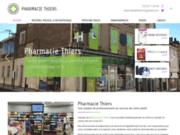 screenshot https://www.pharmaciethiers47.com/ pharmacie, parapharmacie, matériel médical et orthopédique à Fumel 47500