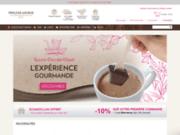 Boutique de chocolat, thé et café du monde entier