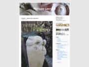 screenshot http://www.philippe-leonard.fr sculpteur sur pierre - grès des vosges