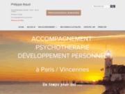 screenshot https://philippebaud-psy.com Gestalt-thérapeutes à Vincennes