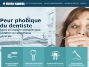 screenshot http://www.phobiedentiste.eu/ Phobie du dentiste