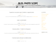 Photo Scope : annuaire de la photographie pour photographes et modeles book mannequin