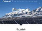 screenshot http://www.photowatt.fr photowatt, fabricant de modules et solutions photo