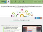 Script PHP de gestion d'utilisateurs et de connexion par les médias sociaux