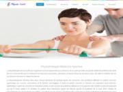 screenshot http://physiosante.ca physiothérapie à montréal dans rosemont  st-leonard, physio sport santé