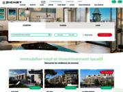 screenshot http://www.pichet-investissement.fr Pichet Investissement