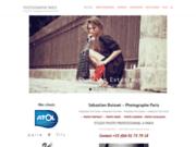 screenshot http://pictange.com photographe professionnel paris