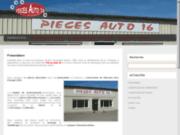 screenshot http://www.pieces-auto-16.com/ pièces auto 16