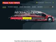 screenshot http://www.piecesautocahors.com/ Pièces Auto Cahors