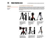Site spécialiste pieds trépied monopode photographes