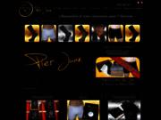 screenshot http://www.pier-juan.fr chaussettes de luxe pour homme pier juan
