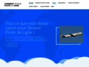 screenshot https://pilotecadet.fr/ Pilotes cadets