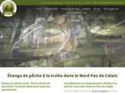 screenshot http://www.pisciculturedemonchel.com/ Pisciculture de Monchel