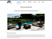 screenshot http://www.piscinedunord.fr construction de piscines de qualité