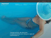 screenshot http://www.piscines-aquaset.com/ construction de piscines