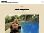 screenshot http://www.piscines-ligneazur.com/ piscines coque polyester