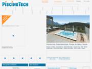 screenshot http://piscinetech.com/ Un site de professionnels de la piscine à votre service