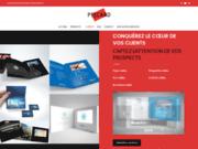 screenshot http://www.pixcard.fr brochure vidéo