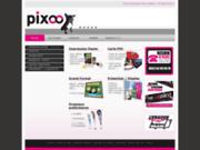 screenshot http://www.pixoo-print.be/impression-carte-pvc-personnalisee.html pixoo-print, votre spécialiste pour l'impression de vos cartes pvc